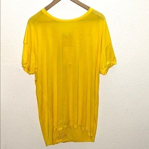 💛 Extra Touch Yellow Short Sleeve